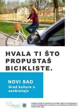 hvala sto propustas bicikliste