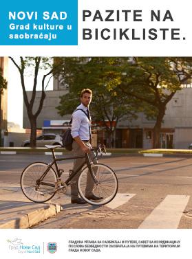 pazi biciklista
